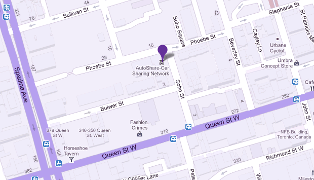 d7f9a48fe ... Queen Street West neighbourhood. Our location offers a youthful